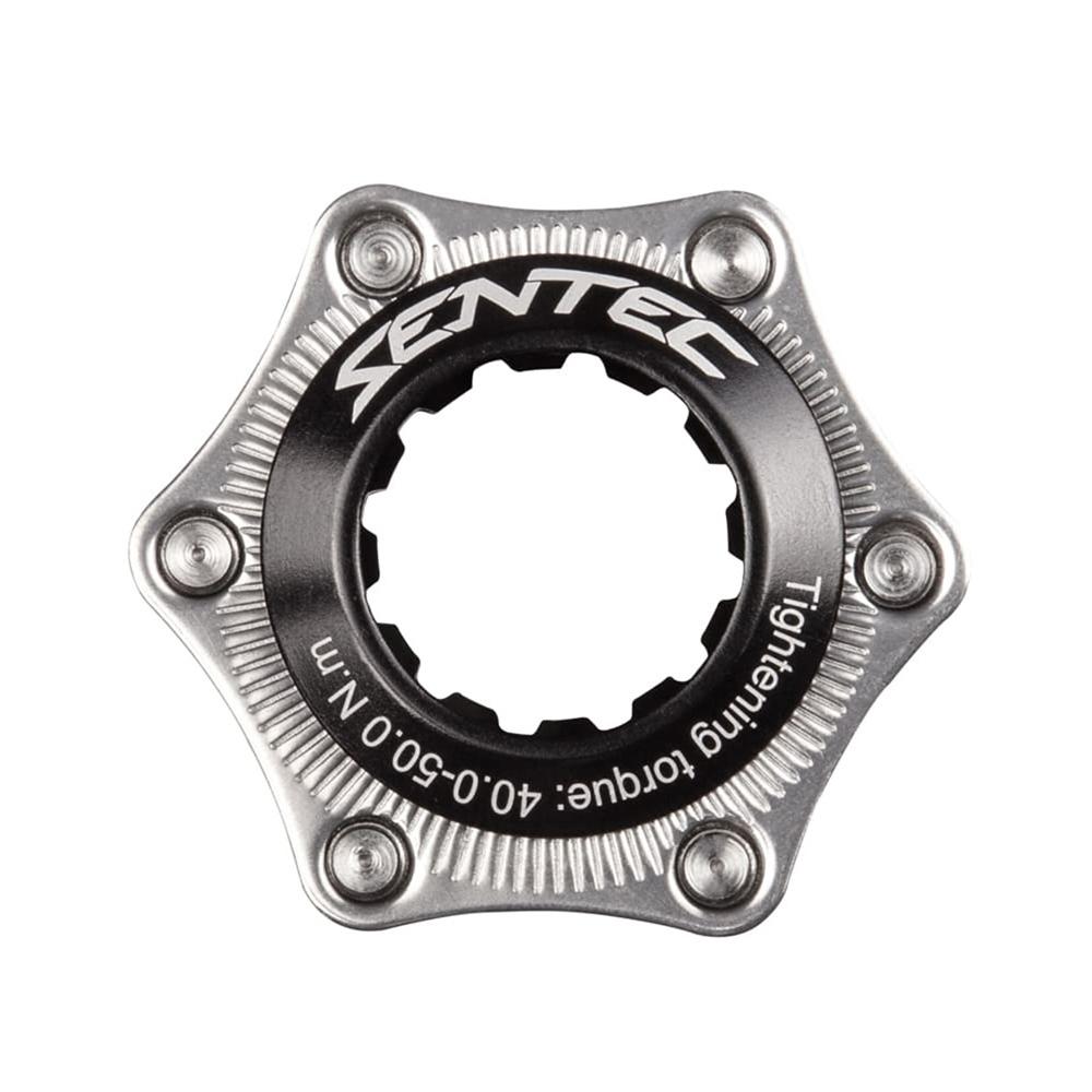 Travão Center Lock Bike 6 Parafusos Sentec Adaptador Disco