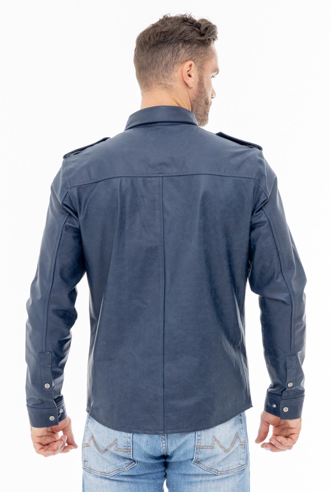 Camisa de Couro Jack 310