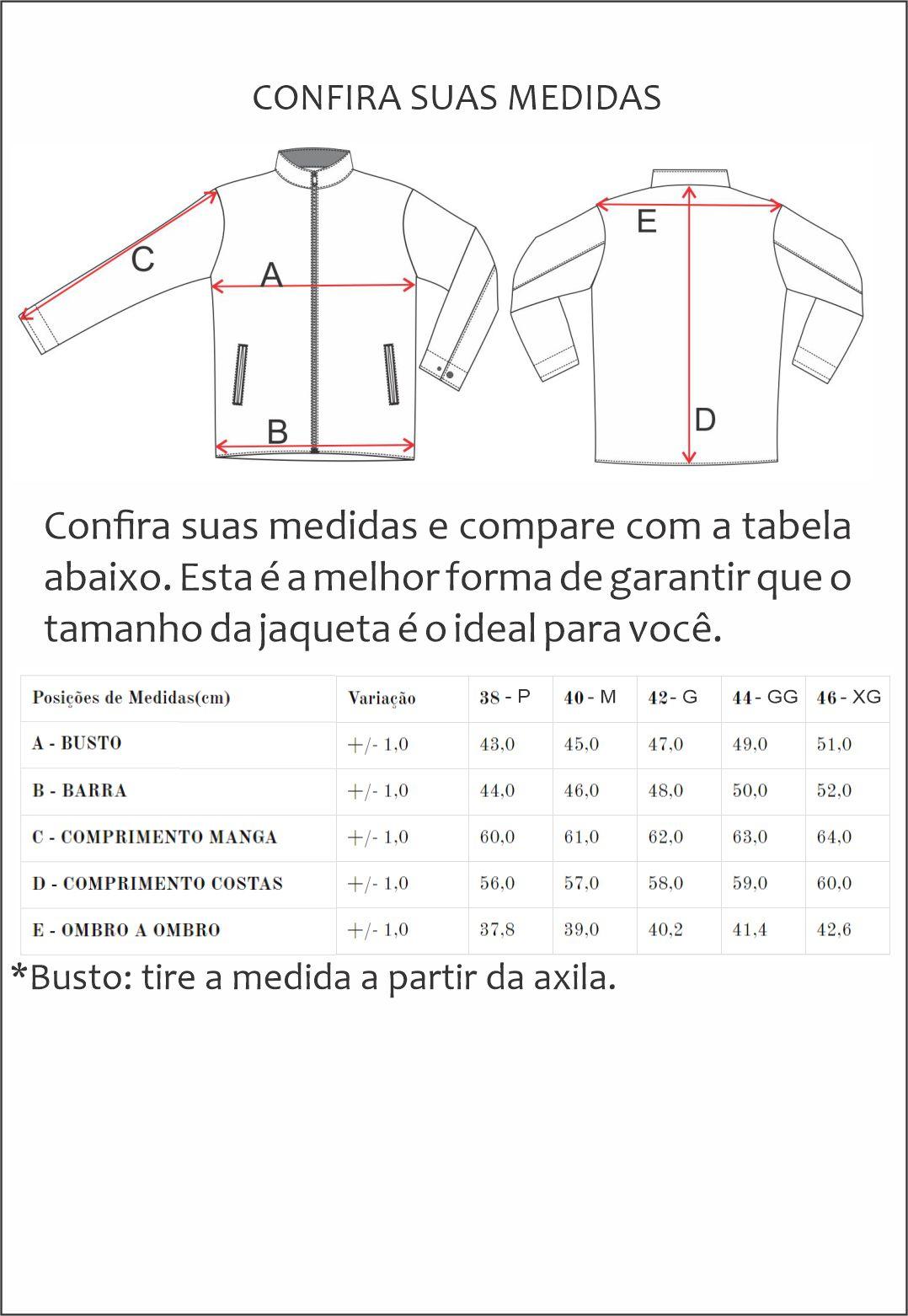 Jaqueta de Couro Jack 1125