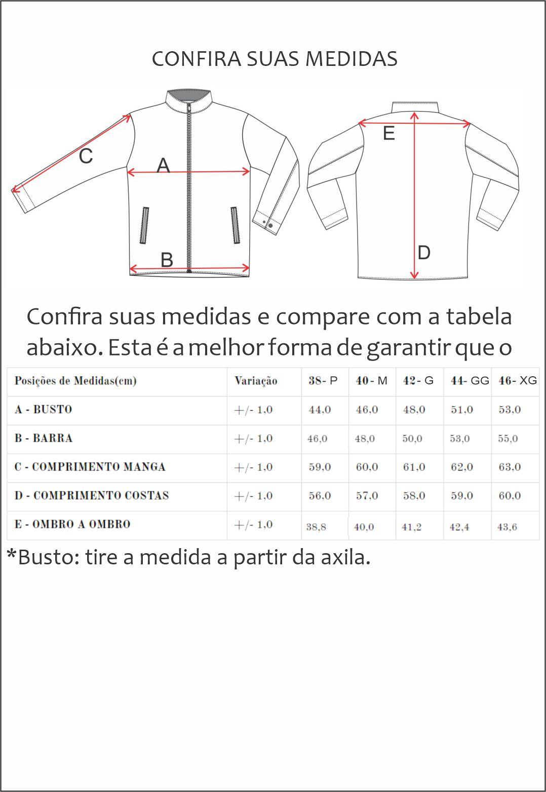 Jaqueta de Couro Jack 1255