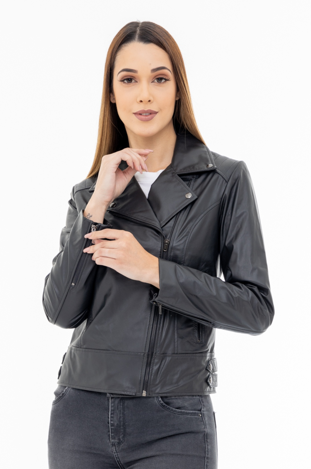 Jaqueta de Couro Jack 1290