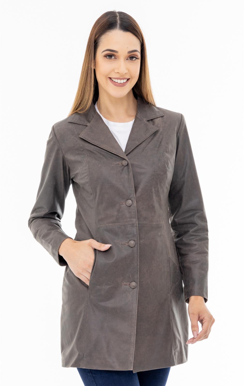 Jaqueta de Couro Jack 1295