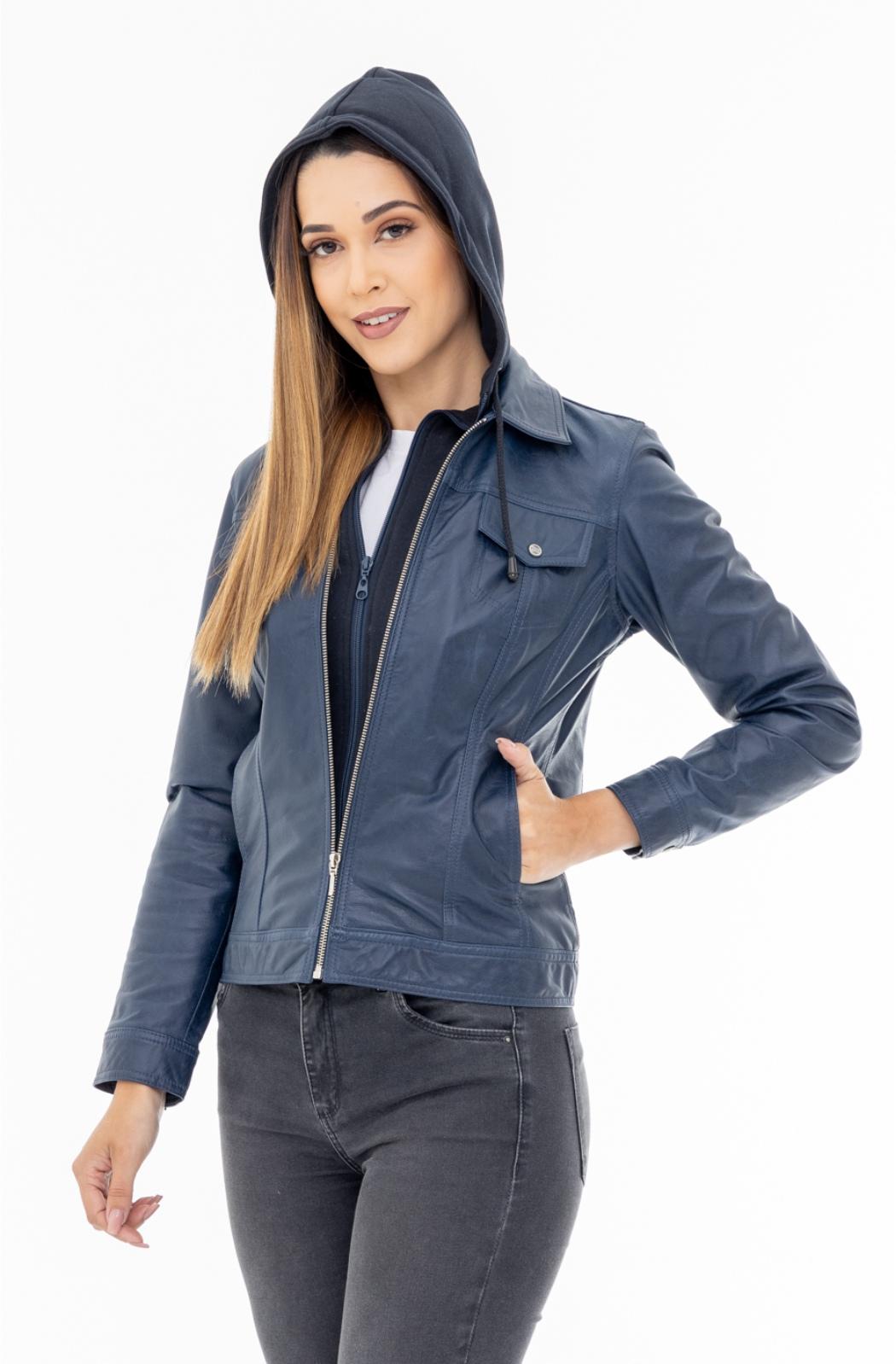 Jaqueta de Couro Jack 1300