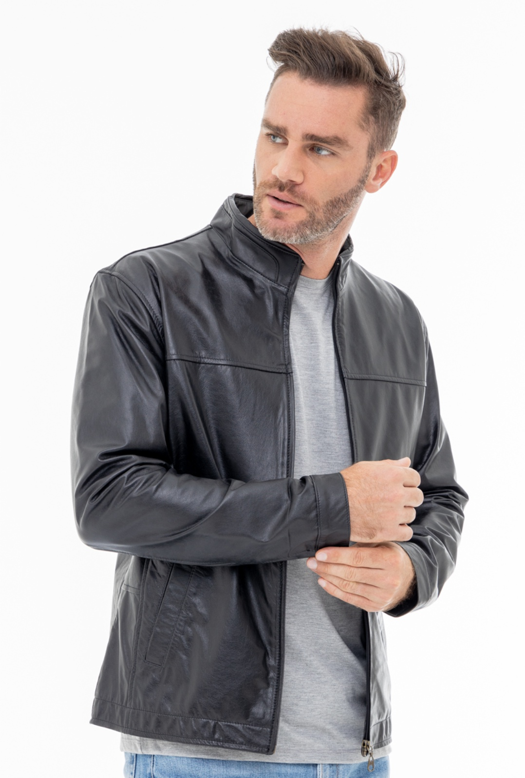 Jaqueta de Couro Jack 300