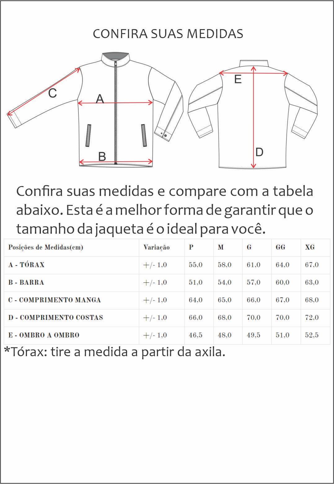 Jaqueta de Nylon Jack 2227