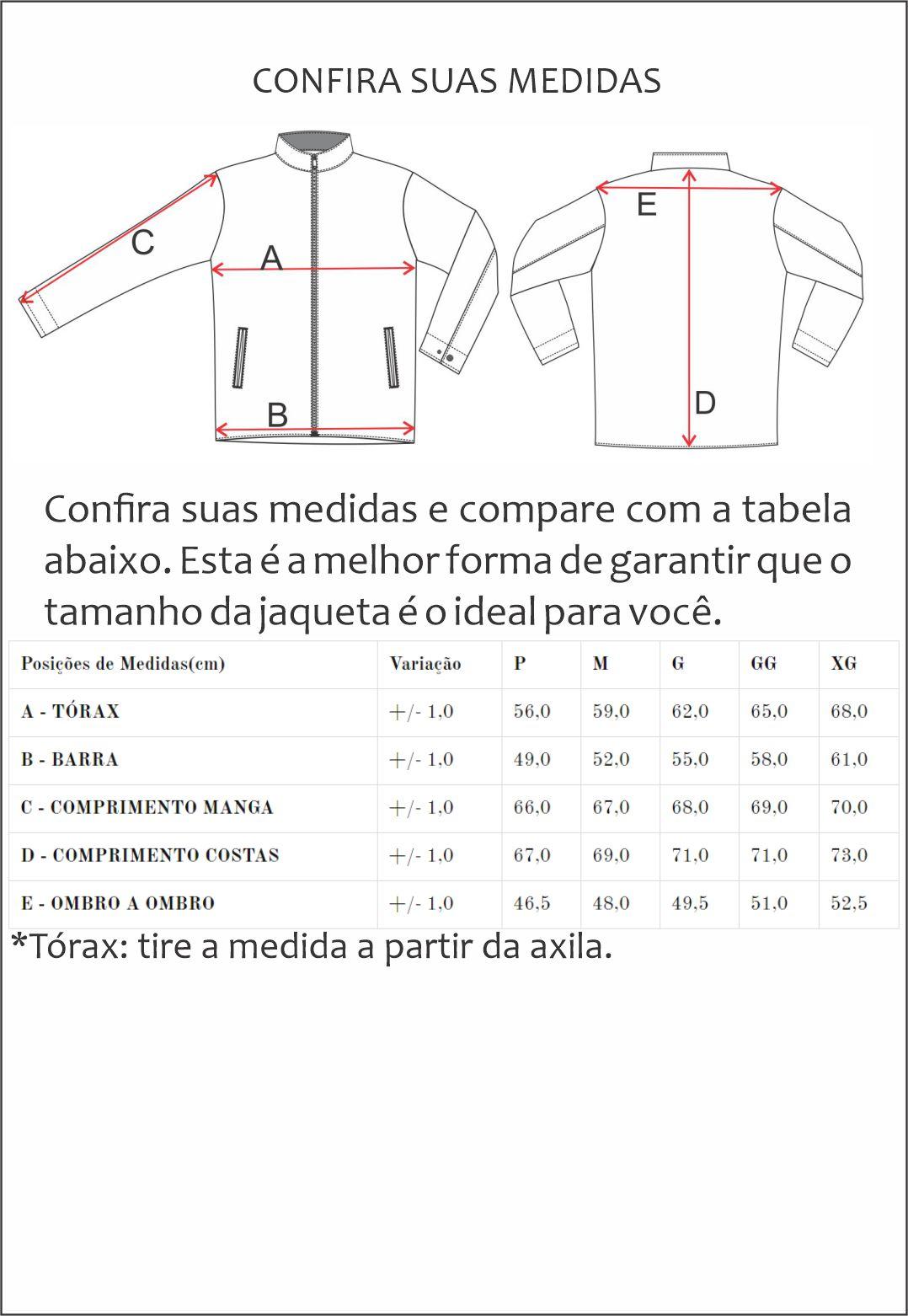 Jaqueta Nylon Jack 2223