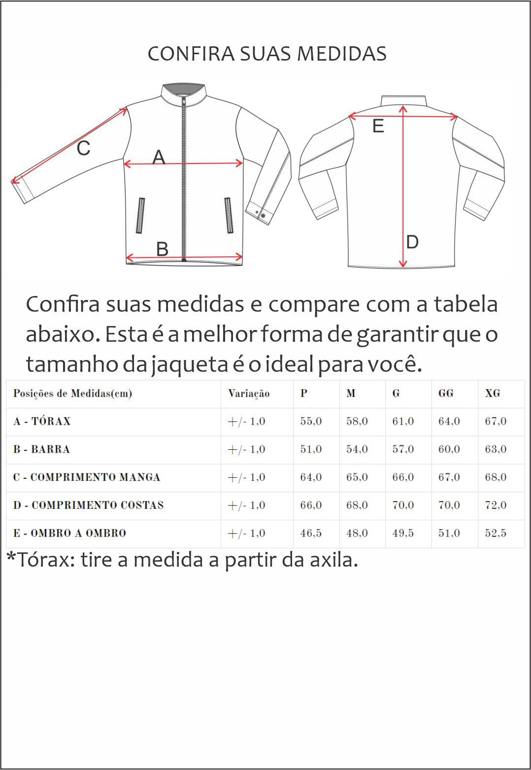 Jaqueta Nylon Jack 2226