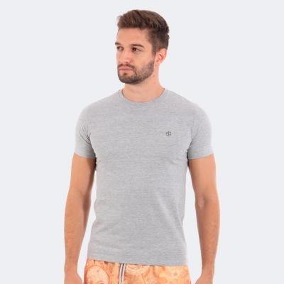Camiseta Disky Basica Mescla Claro