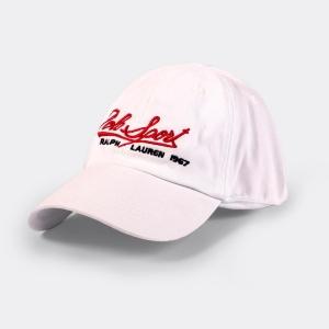 Boné Ralph Lauren Polo Sports Branco
