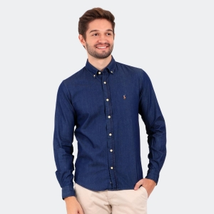 Camisa Ralph Lauren Jeans Stone Leve