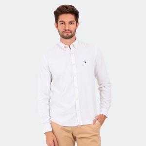 Camisa Ralph Lauren Linho Beta Branca