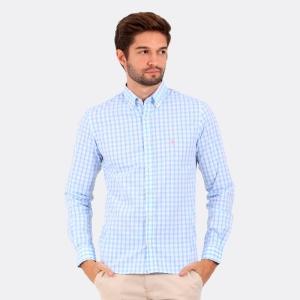 Camisa Ralph Lauren San Lazaro Azul Itália