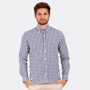 Camisa Ralph Lauren San Lazaro Marinho