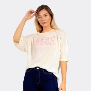Camiseta Aéropostale Feminina Lisa Cru