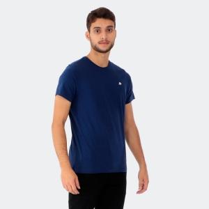 Camiseta Aéropostale Masculina Lisa A87 Marinho