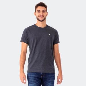 Camiseta Aéropostale Masculina Lisa A87 Mescla Preto