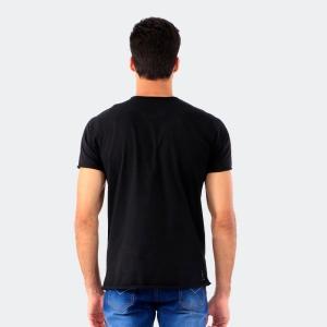Camiseta Derek Ho Longline Cranio Gold Preta
