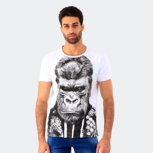 Camiseta Derek Ho Punk Rock Branca