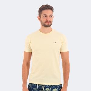 Camiseta Disky Basica Amarela