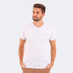 Camiseta Disky Basica Branca