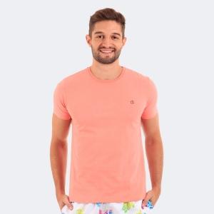 Camiseta Disky Basica Coral