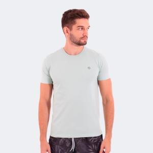 Camiseta Disky Basica Verde Menta