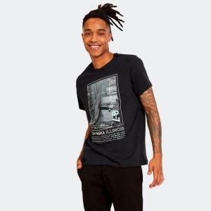 Camiseta Masculina Aero 87 Chicago Preta