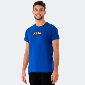 Camiseta Masculina Aéro Azul Escuro