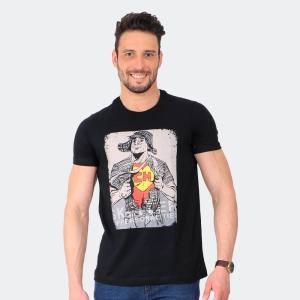 Camiseta Skuller Masculina Chapolin Preta