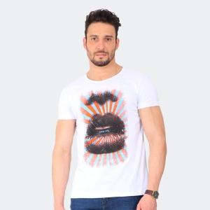 Camiseta Skuller Masculina Pop Art Branca
