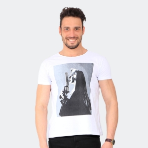 Camiseta Skuller Masculina Prayer Branca