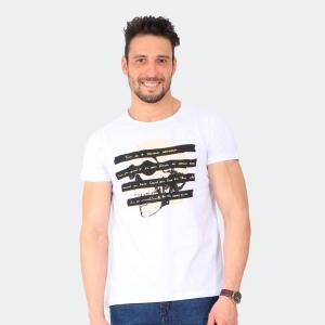 Camiseta Skuller Masculina Time Branca