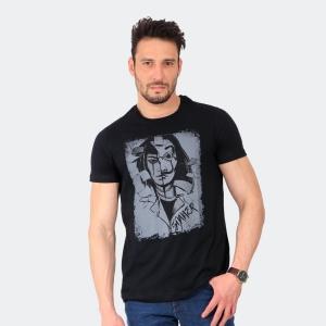 Camiseta Skuller Masculina Toquio Preta