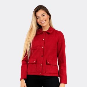 Jaqueta Aishty Feminina Vermelha