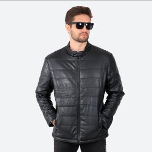 Jaqueta de Couro Ecológico Matelassê Black