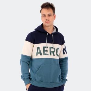 Moletom Aéropostale Canguru Masculino Aéro Azul