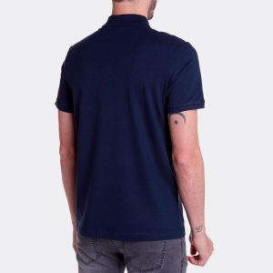 Polo John John New Simple Marinho