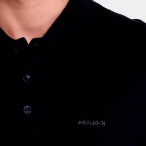 Polo John John New Simple Preta