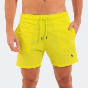 Shorts D'água Ralph Lauren Amarelo