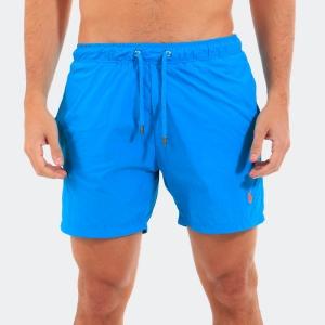 Shorts D'água Ralph Lauren Azul Capri
