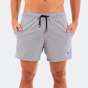 Shorts D'água Ralph Lauren Mescla Cinza
