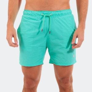 Shorts D'água Ralph Lauren Turquesa