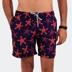 Shorts Praia Disky Estrela do Mar Marinho