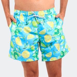 Shorts Praia Disky Lemon