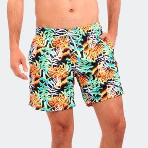 Shorts Praia Disky Tropical Color