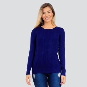 Suéter Dunialin Feminino Azul