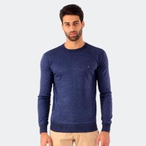 Suéter John Sailor Gola Careca Mescla Azul
