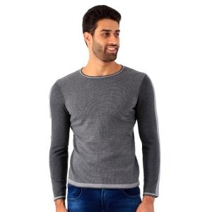 Suéter Masculino Menzo Elaborado Cinza