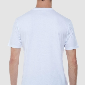 Tshirt John John RG Embossed Branca
