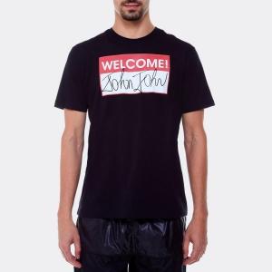 Tshirt John John RX Welcome Preta